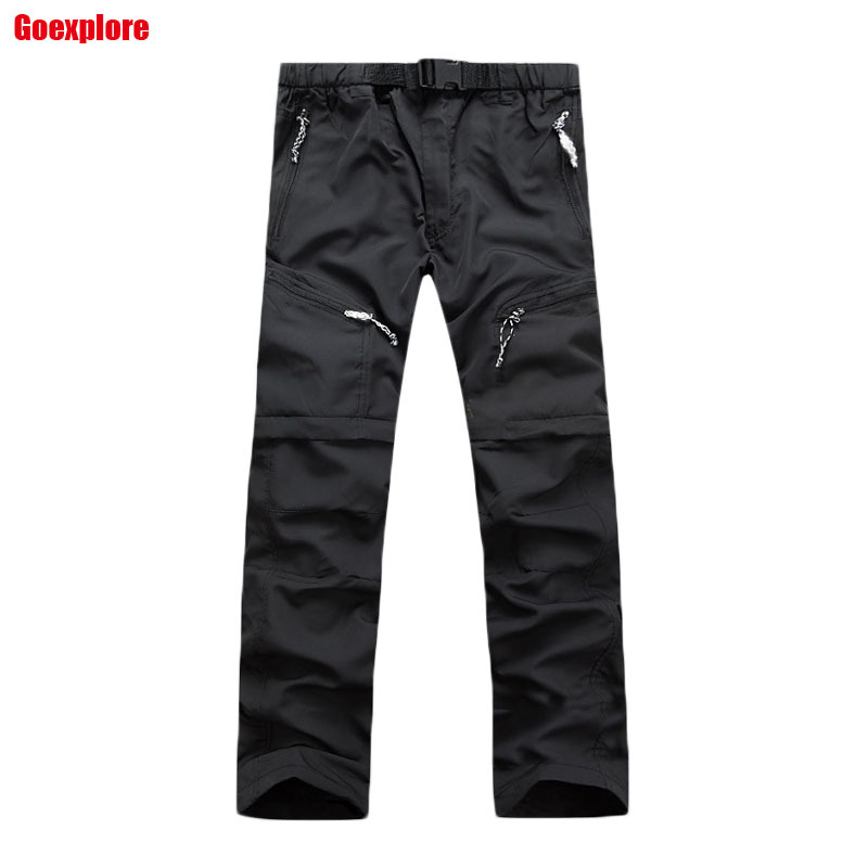 Dropshipping 2015 outdoor travel clothing male sports pants training trousers loose boy trousers quick dry pants