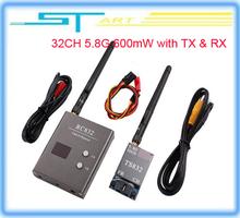 Free Shipping 2014 hot dji RC 32CH 5.8G 600mW 5KM A/V Transmitter TS832 Receiver RC832 FPV Radio System TX&RX wholesale