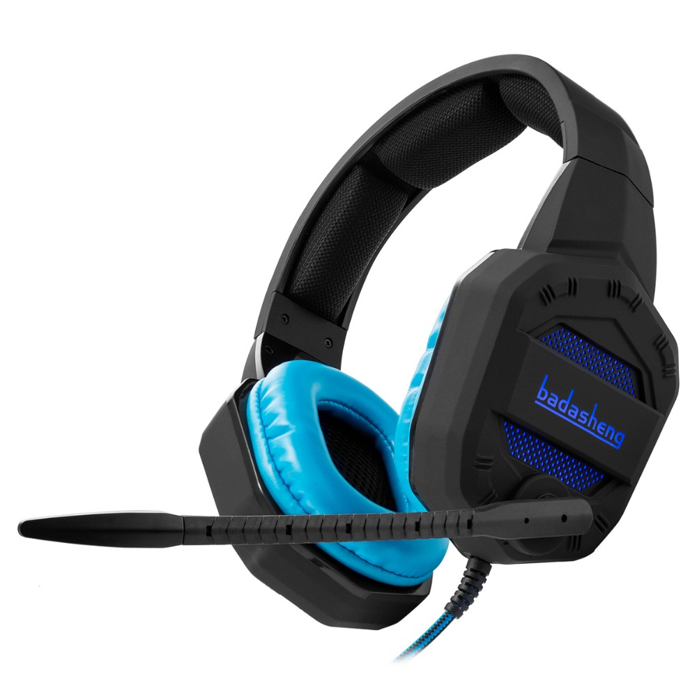 LED Light PS4 headphone headsets for PS4 Xbox one USB with 3.5mm plug headsets for gaming console(China (Mainland))