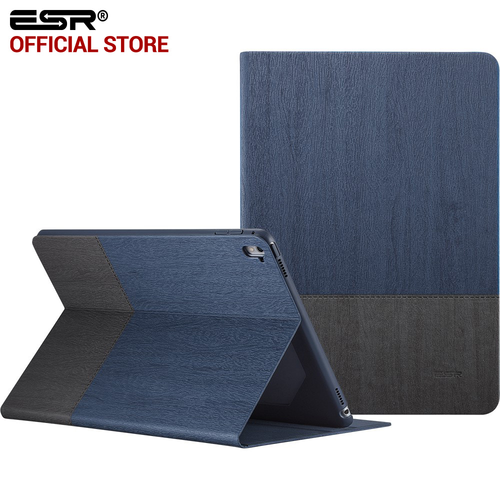"""Case for iPad Pro 9.7 inch, ESR PU Leather Smart Cover Folio Stand Case Auto Sleep/Wake Function for 9.7"""" iPad Pro 2017 Release"""