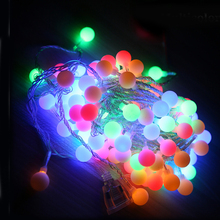 Tanbaby 10M led string lights with 80led ball AC220V holiday decoration lamp Festival Christmas lights outdoor lighting(China (Mainland))