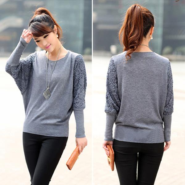 Женский пуловер No Batwing 542