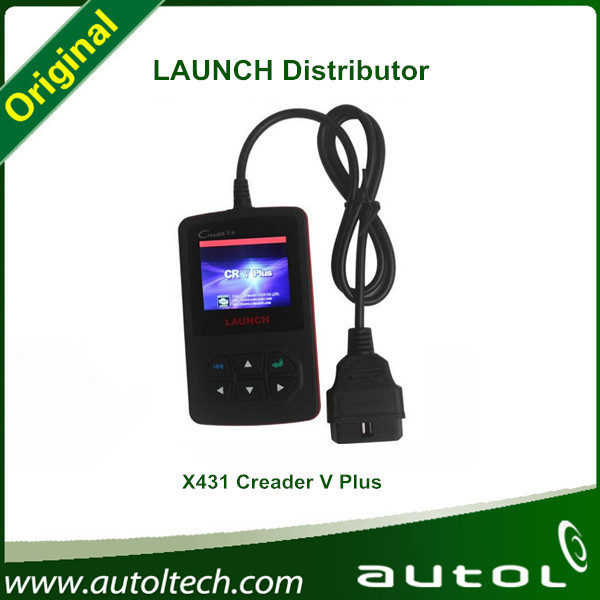 2015 Auto Code reader 5 creader v+ obd2 100% Launch creader v+ update on line x431 scanner tool(China (Mainland))