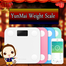 2016 Original Yunmai Mini Smart Fat Scale Weight Scale Digital Scale Body Health Scale Support Android4.3/ IOS7.0 Bluetooth 4.0