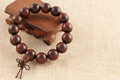 Natural rosewood Buddha bead bracelet fashion bangles vintage wooden Jewelry for men wholesale wooden Jewelry ornaments
