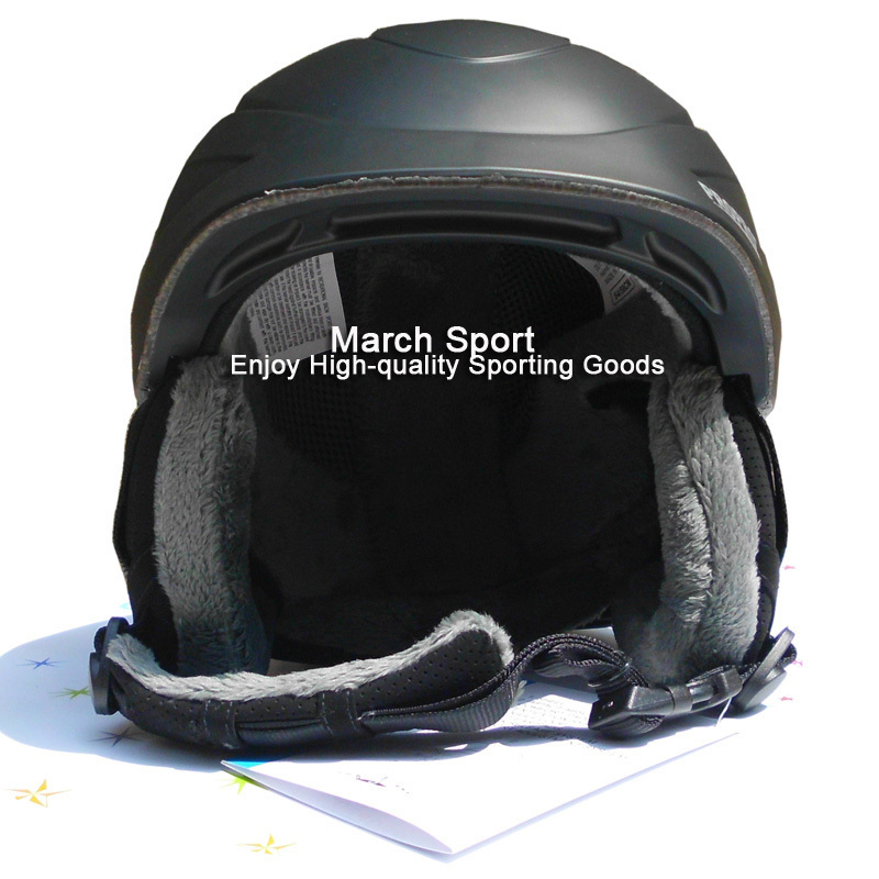 Deluxe CE Certified Ski Snowboard Freestyle Helmet Head Protective Gear Men Women Large Medium Black(China (Mainland))