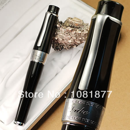 Free shipping  stationery school pen office supplies brand  high quality gift DUKE 2009 EXECUTIVE GOLD AND BLACK ROLLER BALL PEN<br><br>Aliexpress