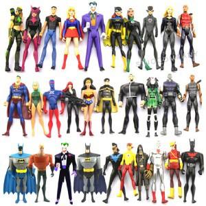 Random Lot 10 DC Universe YOUNG JUSTICE Kid Flash Super Boy Aqualad Miss Martian<br><br>Aliexpress
