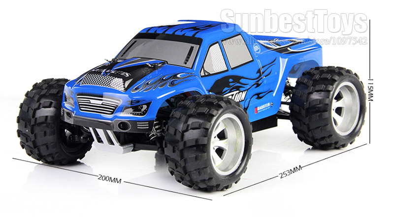 WLtoys A979 4WD 1/18 remote control buggy high speed off-road racing car rc  Monster truck