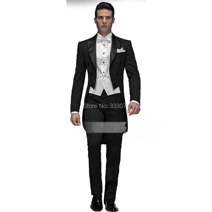 Online Get Cheap Black and White Men Suit Formal -Aliexpress.com ...