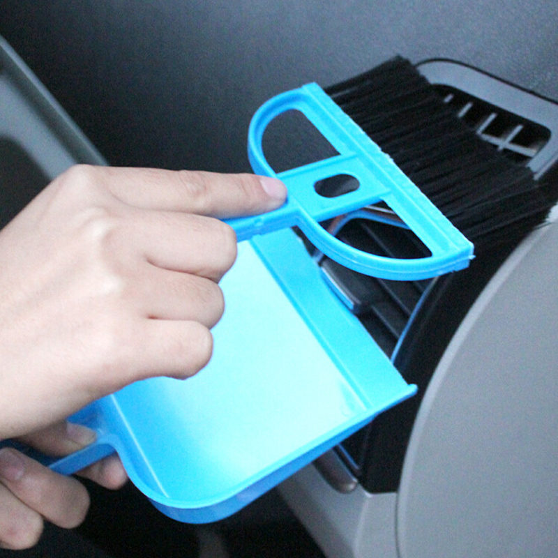 Cars mini desktop brush car cleaning brush home with a small broom dustpan Set car wash automobiles accessories wholesale(China (Mainland))