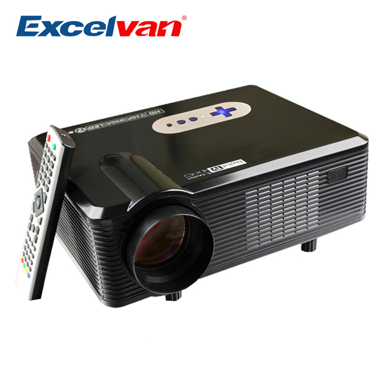 Excelvan cl720 projector 3000 lumens hd home theater for Hd projector