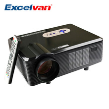 Excelvan CL720 Projector 3000 Lumens HD Home Theater Native 720P Support 1080P Led Projector HDMI / VGA/ USB/ AV /TV Projector(China (Mainland))