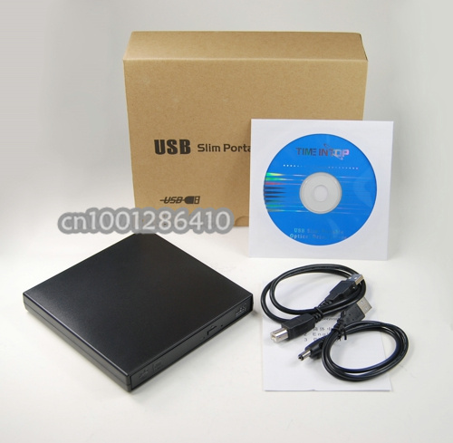 Free Shipping USB 2.0 External blu ray drive Blu-ray Combo BD-ROM DVD/CD Burner For Laptop PC /Desktop computer(China (Mainland))