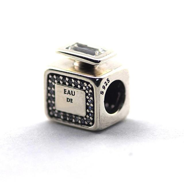 Новый горячая распродажа подходит пандора браслеты оригинал 925 бусины подпись запах шарм ювелирные изделия DIY бусины оптовая продажа