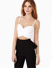 Women's Short White Camis Sexy Female Slim Sleeveless Crop Tops Spaghetti Strap Tank Top Women Cami Shirt Female Summer T1143