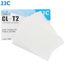 JJC 50PCS Essential Soft Camera Lens Cleaning Paper Optics Tissue for Canon for Nikon for Sony Universal Lenses Filter Eyeglass(China (Mainland))