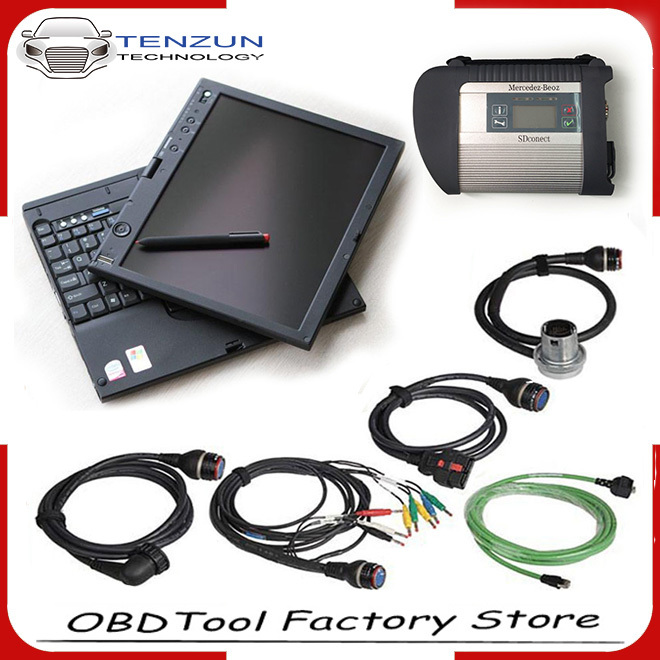 DHL Free! 2015 newest software xentry das A+Quality MB Star C4 SD Connect C4 Wireless With WIFI Compact 4 For MB SD C4(China (Mainland))