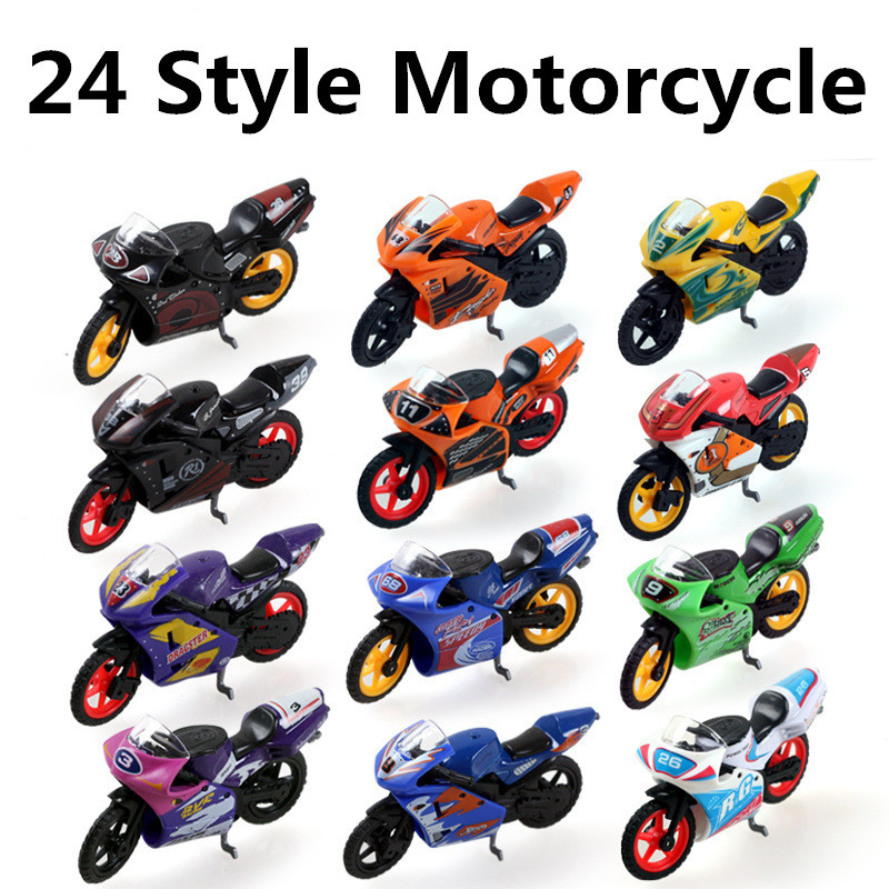 Sale 1:24 alloy Motorcycle, Motorcycle model car, sliding toys, gift packaging, children's gifts, free shipping(China (Mainland))