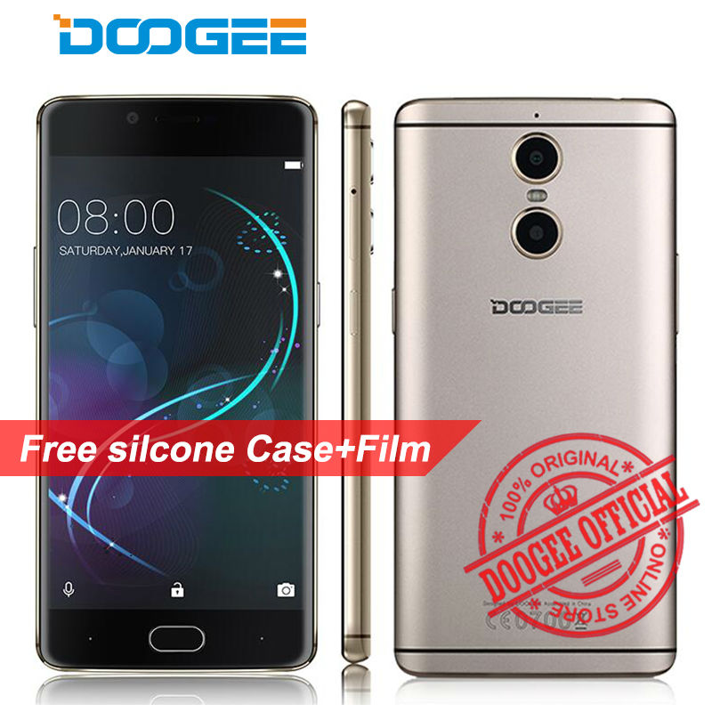 Original DOOGEE Shoot 1 4G LTE Mobile Phone Android 6.0 2GB RAM 16GB ROM MTK6737T 1080P 13MP Camera Dual SIM 5.5 inch Cell Phone(China (Mainland))