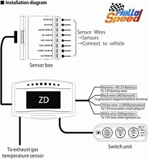 detail feedback questions about 10 in 1 defi style advance zd df09701 oled digital tachometer