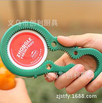 Gourd shape can opener kitchen screw cap xiao bao GaiQi unscrew GaiQi slippery bottle opener energy saving(China (Mainland))