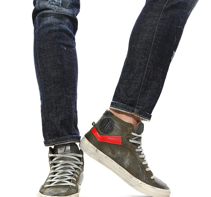 2015 New Handmade Italy Brand Golden Goose Superstar GGDB Sneakers,Men's Women's Casual And Comfortable Youth Shoes