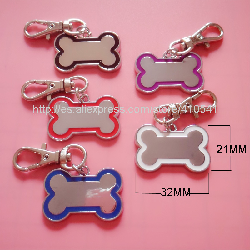 New Arrival Free Shipping 600PCS/LOT Pet Products Dog Bone Shaped Pet Tags DIY Hangs Charms Pendant Zinc Alloy Dog Tags(China (Mainland))