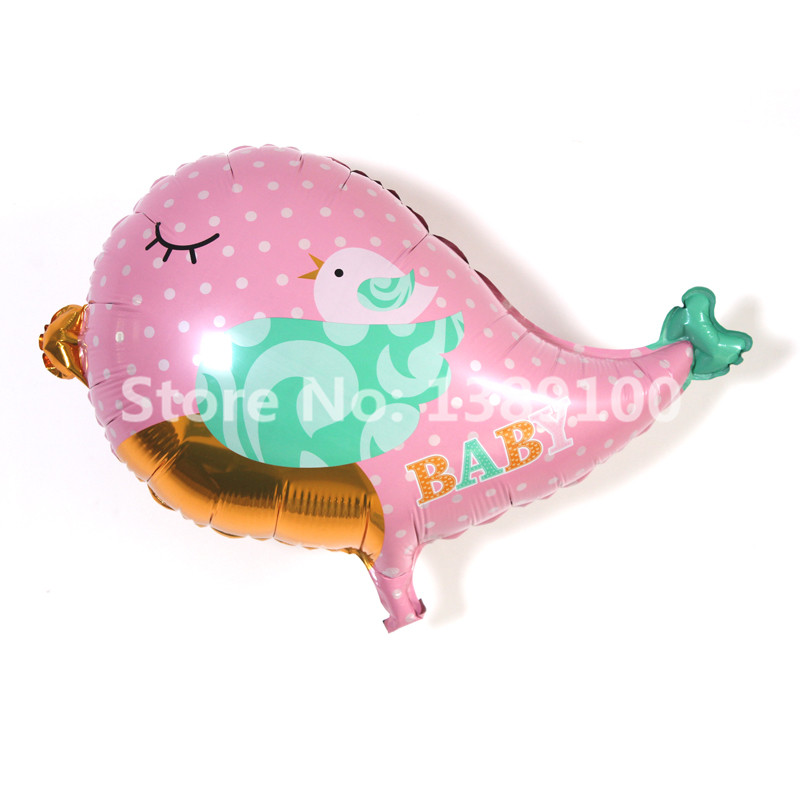 10pcs lots best quality baby girl baby balloon kids for Balloon decoration for baby girl