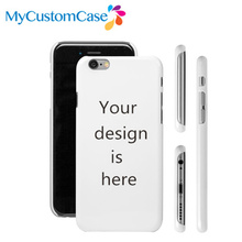 Custom Phone Case For iPhone 5s 6 6 plus 6s plus case DIY 3D Sublimation full wrap plastic phone cover, Free shipping 5pcs/lot(China (Mainland))