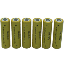 10X Ni-MH 1.2V AA Rechargeable 2800mAh 2A Neutral Battery Rechargeable battery