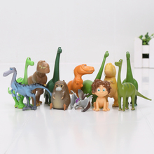 Buy 12pcs/lot Dinosaur Action Figure Toy 2.5-7cm PVC Cartoon Figure Toys Children Anime Brinqudoes for $6.11 in AliExpress store