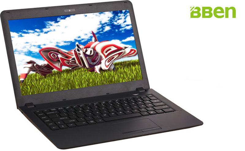 Bben windows 10 14.1inch Intel N3050 CPU processor laptop notebook ram 2gb emmc 32gb wireless wifi BT4.0 webcam gaming computer(China (Mainland))