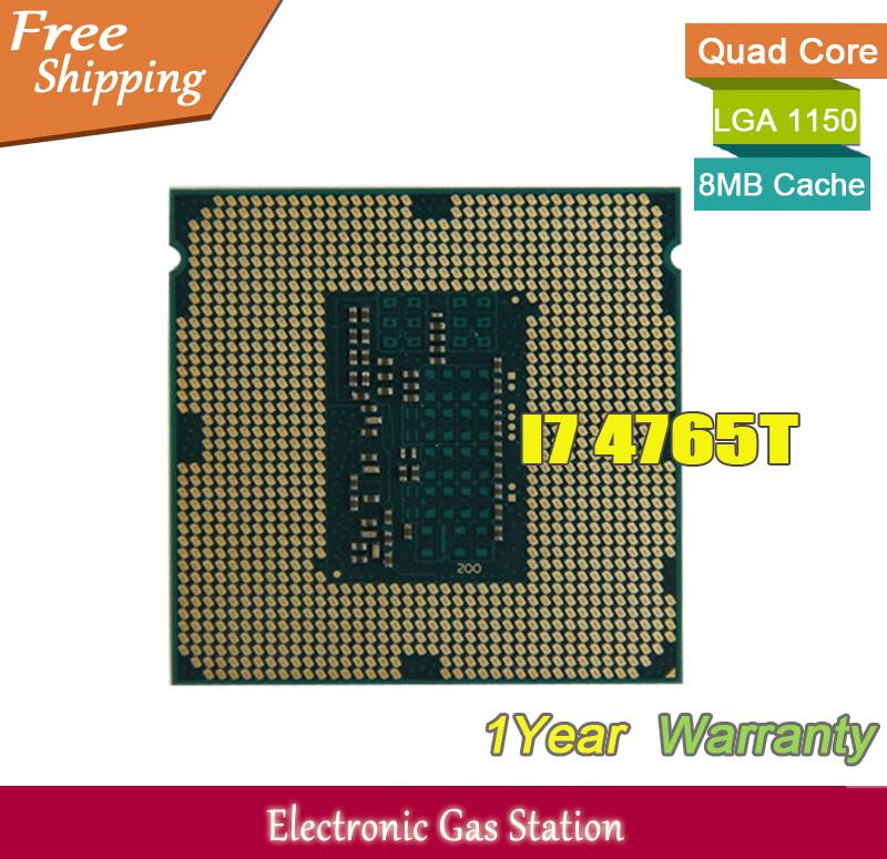 Original Processor Intel i7 4765T Quad Core 2.0GHz LGA 1150 TDP 35W 8MB Cache HD Graphics 22nm Desktop CPU