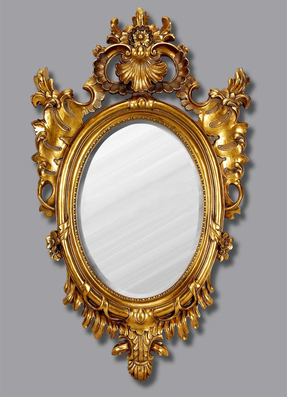 Oude Badkamer Spiegels ~ Muur Badkamer Vintage spiegel Retro Hars Klassieke Muur Spiegel