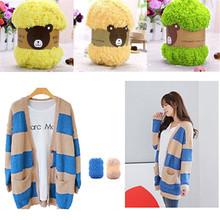 Super Soft Smooth Chunky Acrylic Double Knitting Wool Yarn Colorful Baby Skein Ball Yarn For DIY Knitting Craft Yarns(China (Mainland))