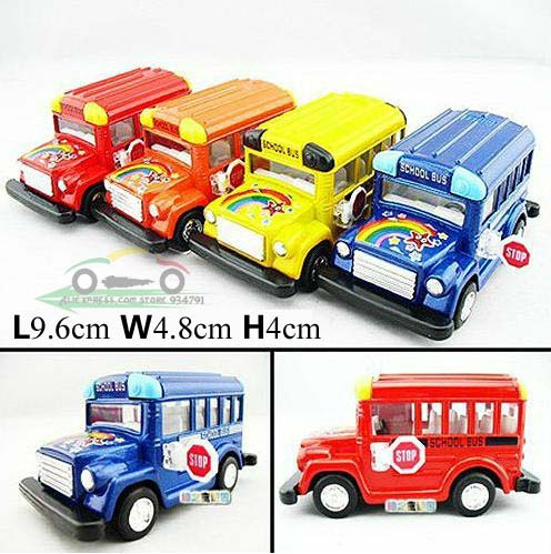 2013 Soft-World KT4004 School Bus Kids Toys Car Classic Vintage Alloy Car Model Wholesale Free Shipping(China (Mainland))