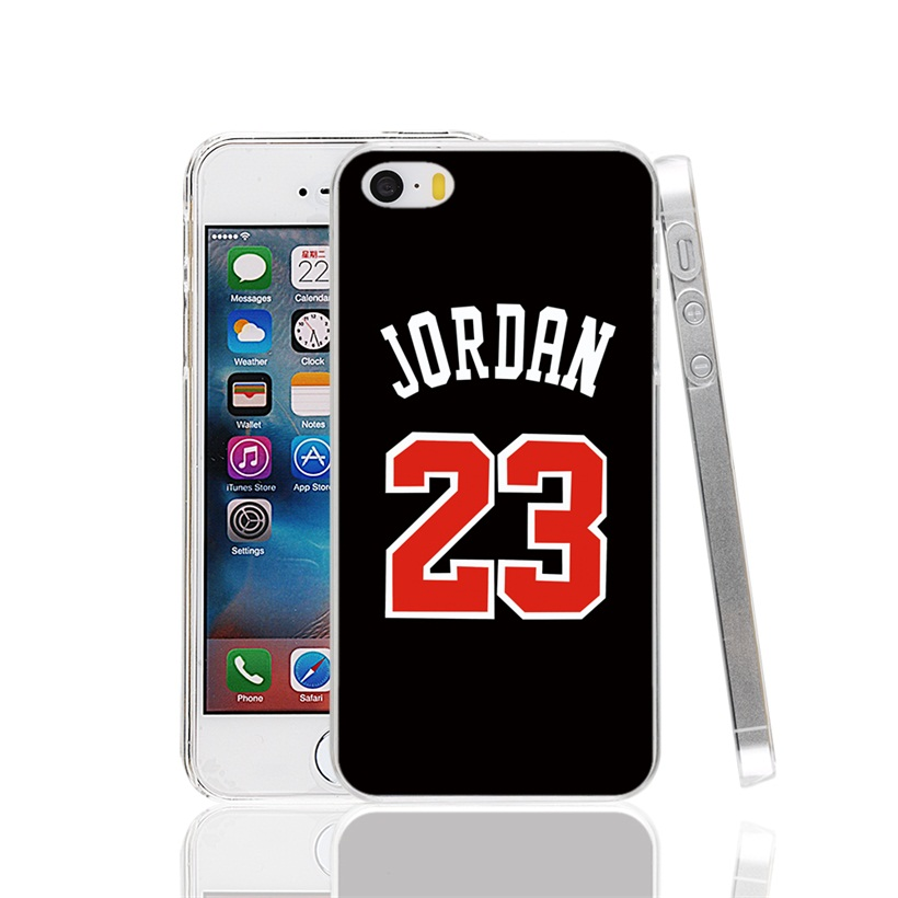 26046 jordan 23 black Cover cell phone Case for iPhone 4 4S 5 5S SE 5C 6 6S 7 Plus(China (Mainland))