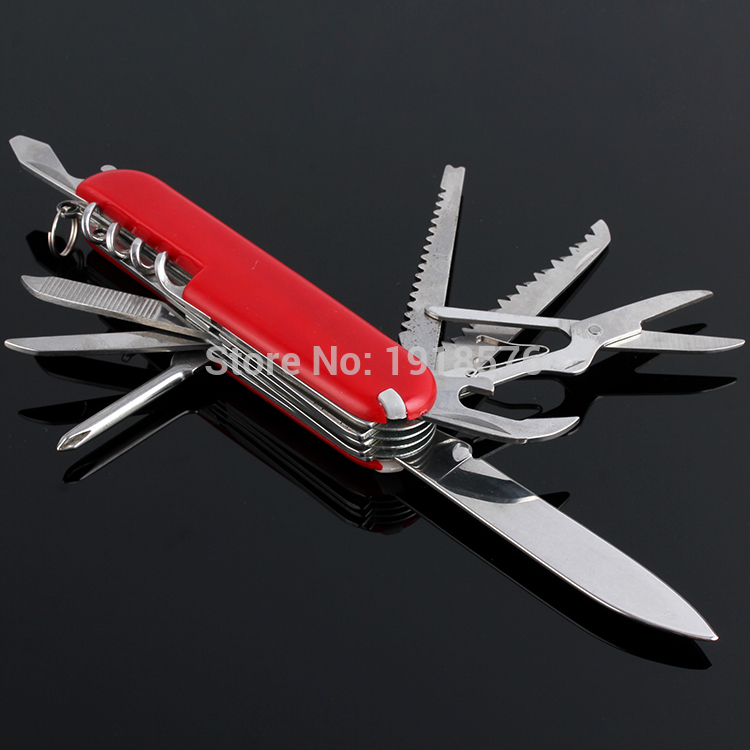Hot Mini 11 in 1 Folding Knife Stainless Steel Small Pocket Knife Multi Funtional Knife Outdoor Tool(China (Mainland))