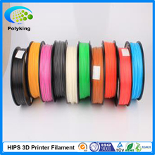 Wholesale 3D Printer Filament HIPS 1.75mm/3mm 1kg Consumables Material For MakerBot/RepRap/UP/Mendel/Ultimaker/Makergear
