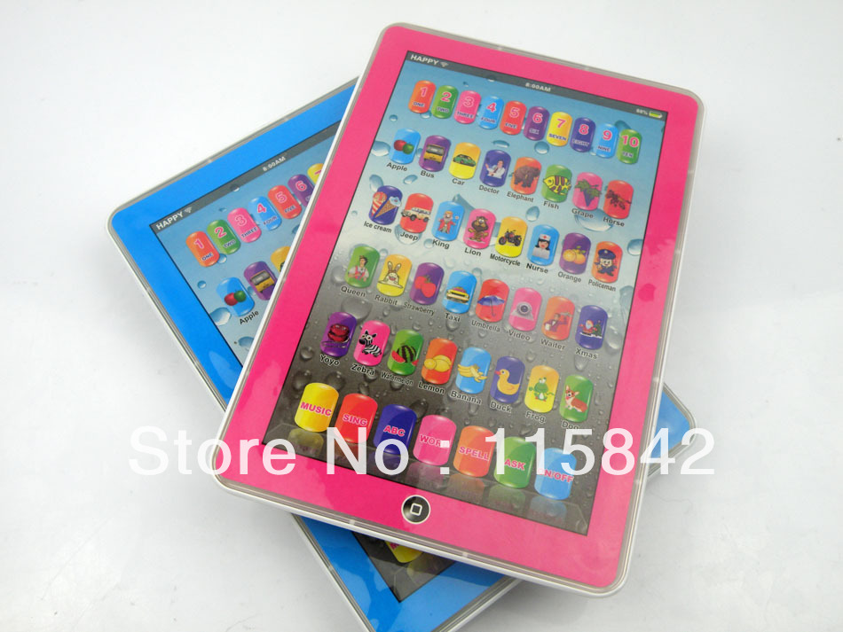 Latest Educational Toys : Free shipping new english ipad kids toys educational