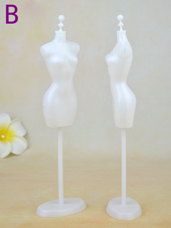 Show Holder Costume Garments Robe Model Mannequin Stand For Barbie 1:6 Doll BBI00563