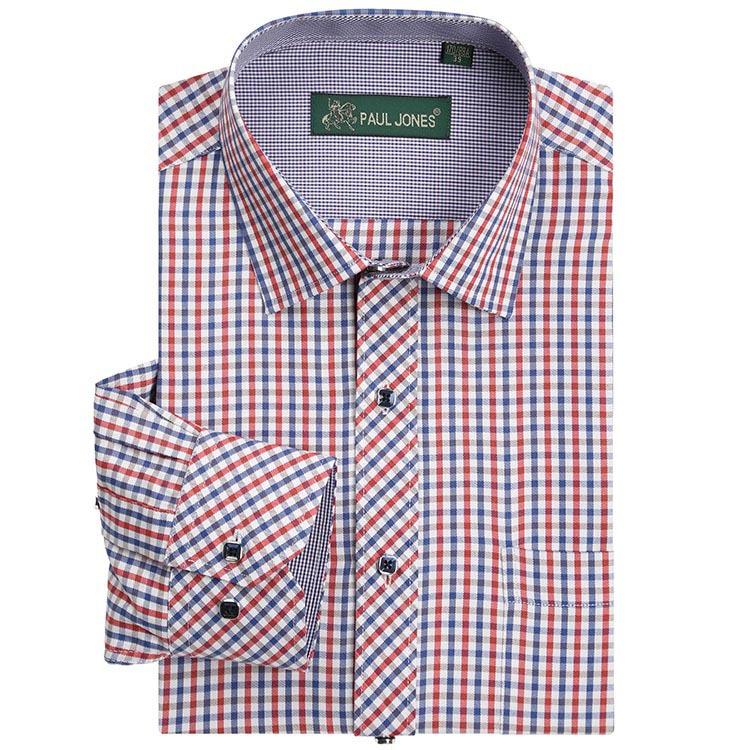 Buy high quality men 39 s classic plaid for High quality mens shirts