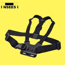 Sport Action Camera GoPro Accessories Adjustable Chest Mount Harness Strap Belt for GoPro Hero 4 3+ 3 SJ4000 SJ5000 Xiaomi Yi