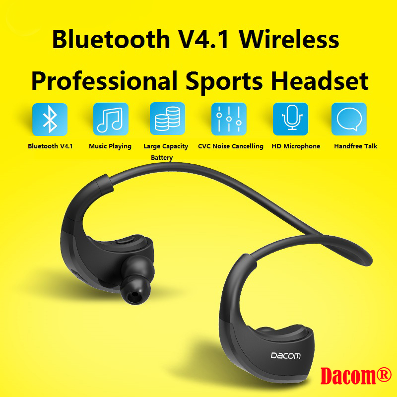 top quality wireless bluetooth headset sport stereo. Black Bedroom Furniture Sets. Home Design Ideas