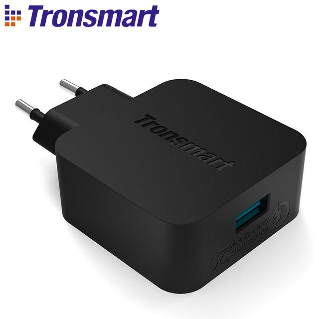 Tronsmart TS-WC1Q для Qualcomm сертифицированный быстрая зарядка 2.0 быстрое USB зарядное устройство для Asus Zenfone 2 Samsung Galaxy S6 Xiaomi Mi4