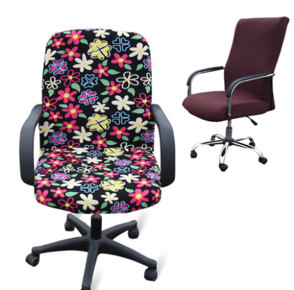 Large Size Office Computer Chair Cover Side Zipper Design