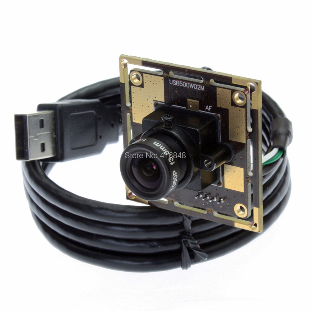 Plug and play driverless cmos sensor ov5640 high definition camera module 5mp usb web camera with 6mm lens<br><br>Aliexpress