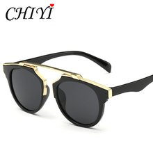 CHIYI New Kids Sunglasses UV400 Ultraviolet Proof Pilot Shades High Quality Fashion Cool Boy And Girls Children Sunglasses CY054