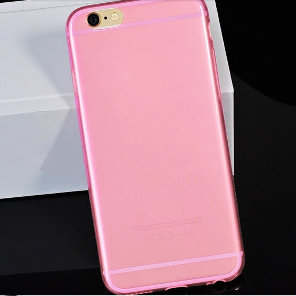 For Apple iphone 6 case 4.7 inch 1 PC Ultra Thin Slim Transparent Design Mobile Phone Bag Back Cases TPU Soft Silicone Cover(China (Mainland))
